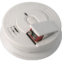 Kidde 21006376 Hard-Wired Interconnect Ionization Smoke Alarm w/9V Battery