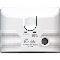 Kidde 21006462 AC/DC CO Alarm w/Theft Deterrent, 6 Pack