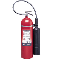 Badger 21103 15 lb CO2 Fire Extinguisher w/Wall Hook