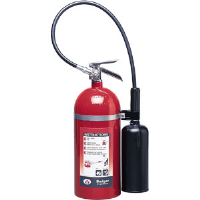 Badger 21106 10 lb CO2 Fire Extinguisher w/Wall Hook