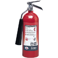 Badger 21111 5 lb CO2 Fire Extinguisher w/Wall Hook
