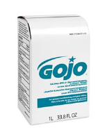 Gojo 2112-08 Ultra Mild Antimicrobial Lotion Soap, 1000ml NXT, 8/Cs.