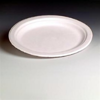 "Chinet 21217 Venture Classic White Paper Plates, 10.5"", 125 Pack"