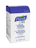 Gojo 2137-08 Purell® NXT™ Instant Hand Sanitizer w/ Aloe, 1000ml, 8/Cs.