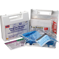 First Aid Only 214-U/FAO 23-Pc. Bloodborne Pathogen/Body Fluid Spill Kit