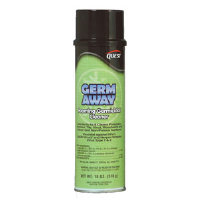 Quest Chemical 217 Germ Away Foaming Germicidal Cleaner, 20oz, 12/Cs.