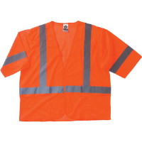 Ergodyne 22015 GloWear® 8310HL Class 3 Economy Vest Orange, L - XL