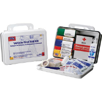 First Aid Only 220-O 93-Pc. Vehicle Kit w/Gasket (Plastic)