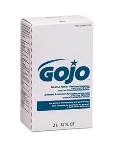 Gojo 2212-04 Ultra Mild Antimicrobial Lotion Soap, 2000ml NXT, 4/Cs.