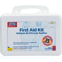 First Aid Only 223-G 25-Person, 106-Pc. Kit w/Gasket (Plastic)