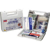 First Aid Only 223-U/FAO 25-Person, 106-Pc. Kit w/Dividers (Plastic)