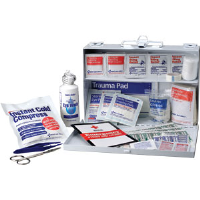 First Aid Only 224-U/FAO 25-Person, 106-Pc. Kit (Metal)