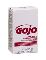 Gojo 2252-04 Spa Bath® Body & Hair Shampoo, 2000ml NXT, 4/Cs.