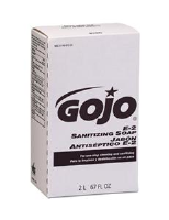 Gojo 2280-04 E-2 Sanitizing Lotion Soap, 2000ml NXT, 4/Cs.