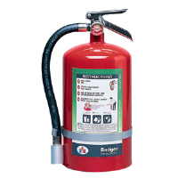 Badger 23082 11 lb Halotron I Fire Extinguisher w/Wall Hook
