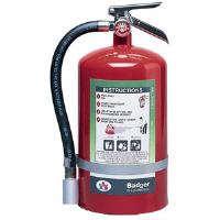 Badger 23097 15-1/2 lb Halotron I Fire Extinguisher w/Wall Hook