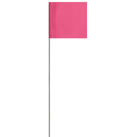 Presco 2321PG Marking Flags, PresGlo Pink, 1000/Cs.