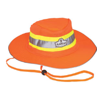 Ergodyne 23257 GloWear® 8935 Hi-Vis Ranger Hat Orange, S-M