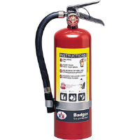 Badger 23390 5 lb ABC Extinguisher w/Wall Hook
