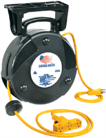 National Electric 23T40 Heavy Duty Tri-Tap Reel w/ 40' Cord