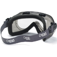 MCR Safety 2400F Verdict® Safety Goggles,Clear w/Foam Lining