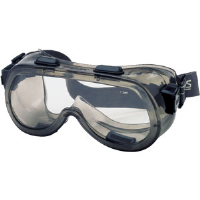 MCR Safety 2410NF Verdict® Safety Goggles,Clear AF w/Foam Lining