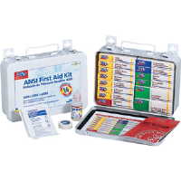 First Aid Only 241-AN 16-Unit, 94-Pc. Unitized Kit w/Gasket (Metal)