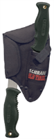 Schrade Knives 241OTCP Old Timer Hatchet/Guthook Set w/ Sheath