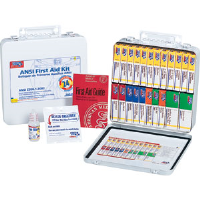 First Aid Only 242-AN 24-Unit, 148-Pc. Unitized Kit w/Gasket (Metal)