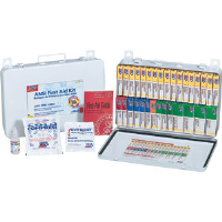 First Aid Only 243-AN 36-Unit, 194-Pc. Unitized Kit w/Gasket (Metal)