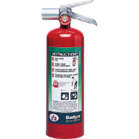 Badger 24567 5 lb Halotron I Fire Extinguisher w/Wall Hook