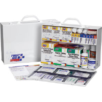 First Aid Only 245-O/P 2-Shelf, 75-Person, 515-Pc. Station w/8-Pocket Liner