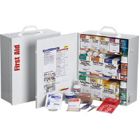 First Aid Only 247-O/FAO 3-Shelf, 100-Person, 1,041-Pc. Station