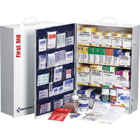 First Aid Only 248-O/P 4-Shelf, 150-Person, 1,059-Pc. Station w/20-Pocket Liner