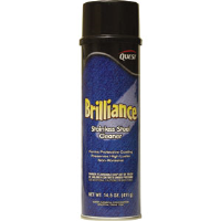 Quest Chemical 249 Brilliance Oil-Based Stainless Steel Cleaner, 20oz, 12/Cs.