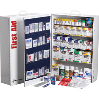 First Aid Only 249-O/P 5-Shelf, 200-Person, 1,720-Pc. Station w/22-Pocket Liner