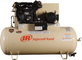 Ingersoll Rand 2545E10-V 10 HP Electric Two-Stage Air Compressor, 120H Gal.