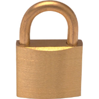 Fire Blanket Cabinet Padlock (for Cabinet #1)