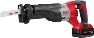 Milwaukee 2620-22 M18&#153L Cordless Sawzall® Recip Saw Tool Kit
