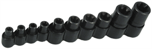 Lisle 26280 10 Pc.Master Torx® Socket Set