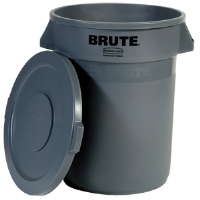 Rubbermaid 263100 Brute® Gray Lid for 32 gal Round Containers