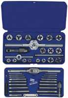 Irwin 26317 41 Pc. Metric Tap & Hex Die Set