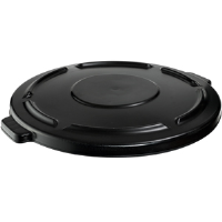 Rubbermaid 264560 Brute® Vented Black Lid for 44 gal Containers