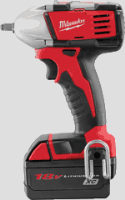 "Milwaukee 2651-22 M18&#153L 3/8"" Compact Impact Wrench Kit"