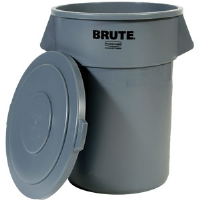 Rubbermaid 265400 Brute® Gray Lid for 55 gal Round Container