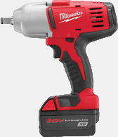 "Milwaukee 2663-22 M18&#153L 1/2"" High Torque Impact Wrench Kit"