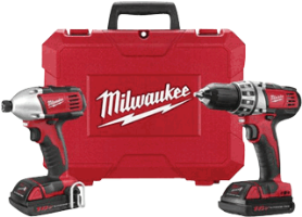 Milwaukee 2691-22 M18™L 18 Volt Tool Combo Kit