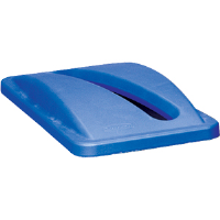 Rubbermaid 2703-88 Slim Jim® Paper Recycling Top, Blue
