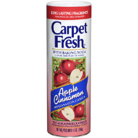WD-40 277119 Carpet Fresh® Powder Deodorizer,14 oz Apple Cinnamon