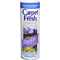 WD-40 278143 Carpet Fresh® Powder Deodorizer,14 oz Mountain Essence